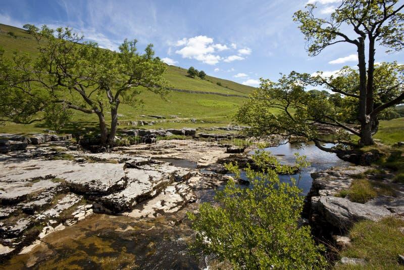 Stationnement national de vallées de Yorkshire - Angleterre photographie stock libre de droits