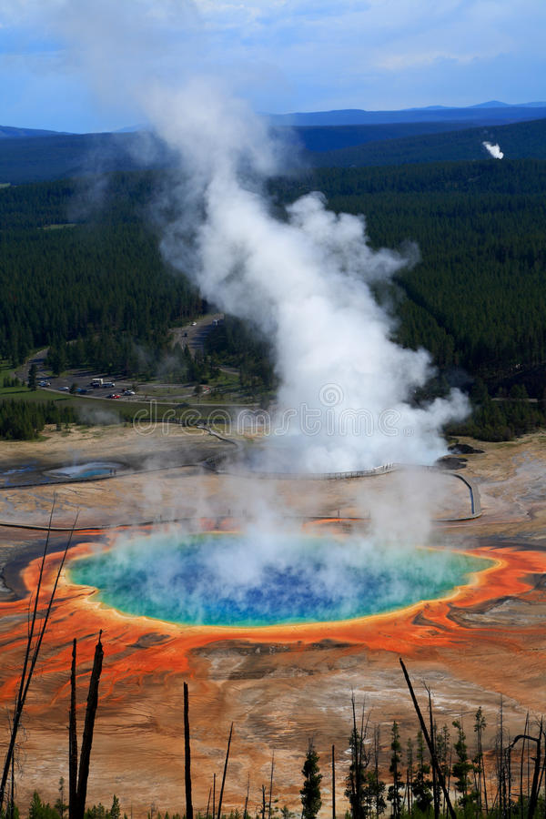 Stationnement national de Yellowstone image stock
