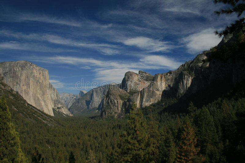 Stationnement national de Yosemite images stock