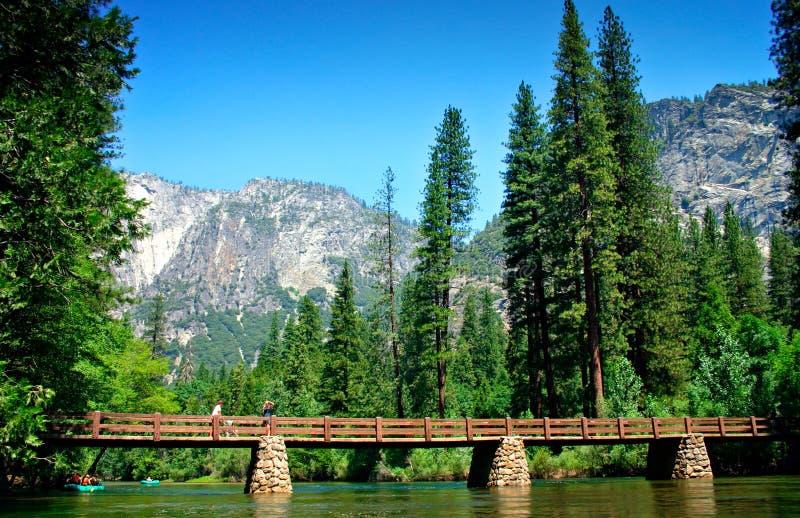 Stationnement national de Yosemite, Etats-Unis photos stock