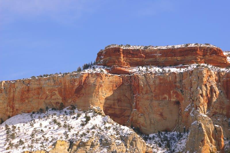 Stationnement national de Zion - autel de montagne de sacrifice photo libre de droits