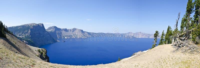 Stationnement national Etats-Unis de lac crater photo libre de droits