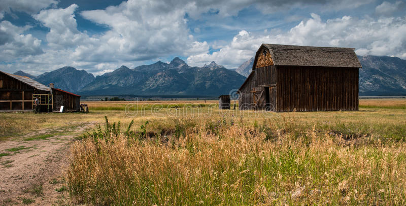 Stationnement national grand de Teton photos libres de droits