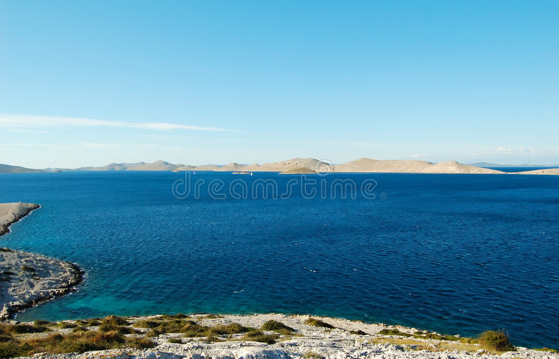 Stationnement national Kornati image stock