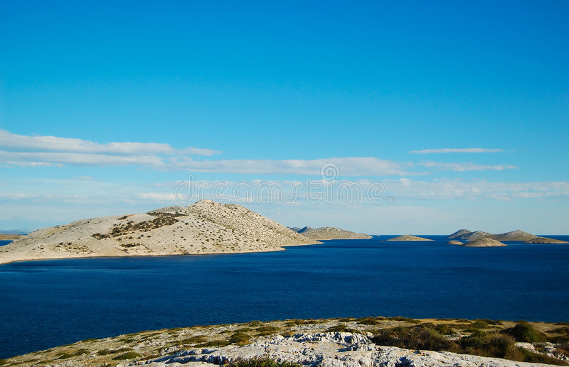 Stationnement national Kornati photos libres de droits