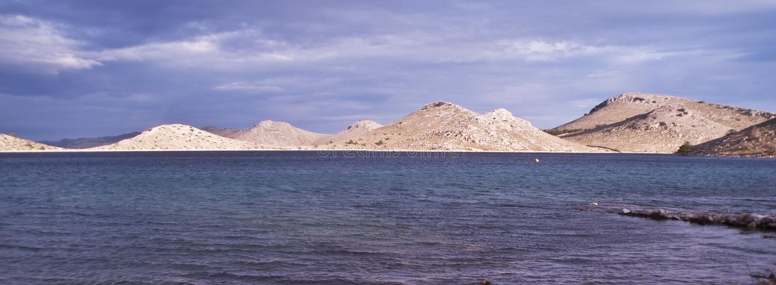 Stationnement national Kornati Croatie photographie stock libre de droits