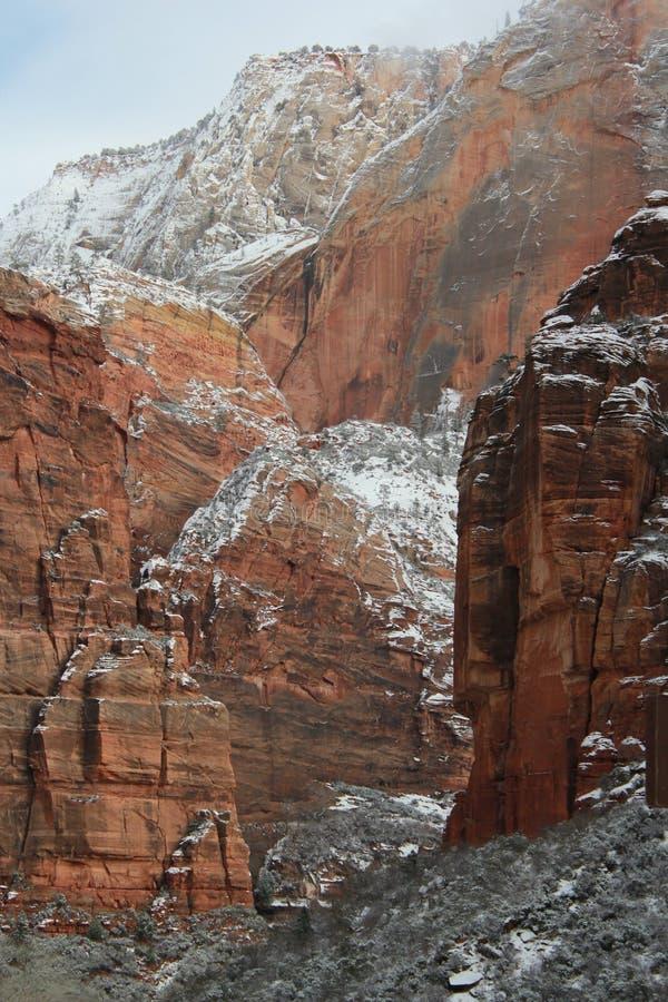 Stationnement national Utah de Zion photo stock