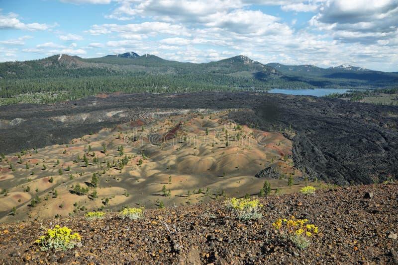Download Stationnement National Volcanique De Lassen Image stock - Image du horizontal, nordique: 77157227
