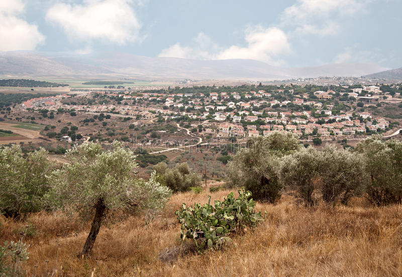 Stationnement national Zippori (Tsipori) l'israel images libres de droits