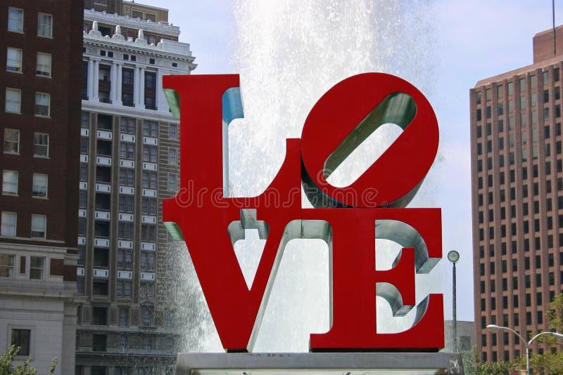 stationnement Philadelphie d'amour photo libre de droits