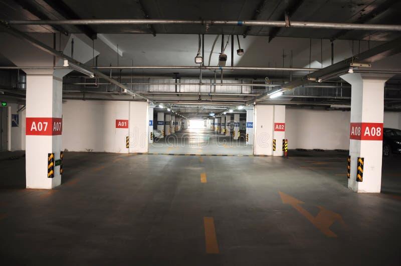 Stationnement souterrain