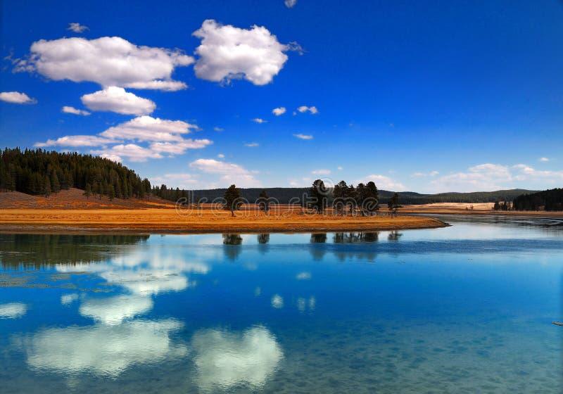 Stationnements nationaux de Yellowstong images libres de droits