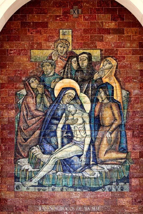 Download Stations of the Cross stock image. Image of portuguese - 23301443
