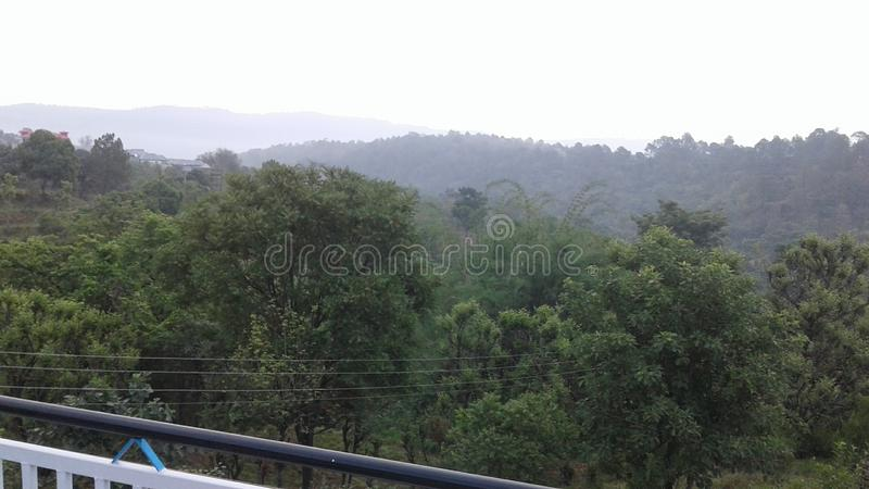 Stations de colline de Himachal Pradesh images stock