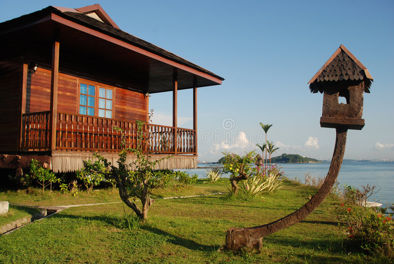 Stations de vacances tropicales 6 photos stock