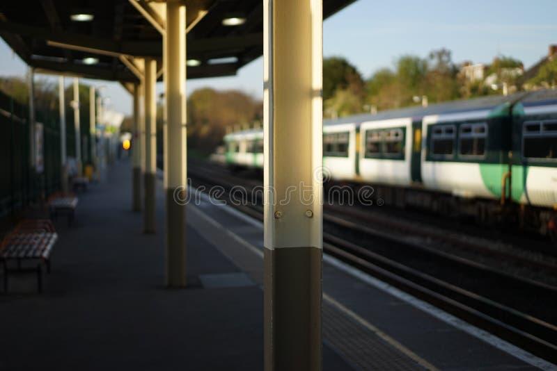 Stationshederek arkivfoton