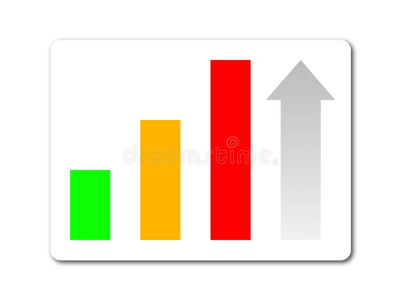 Download Statistic button stock illustration. Illustration of logo - 11815239