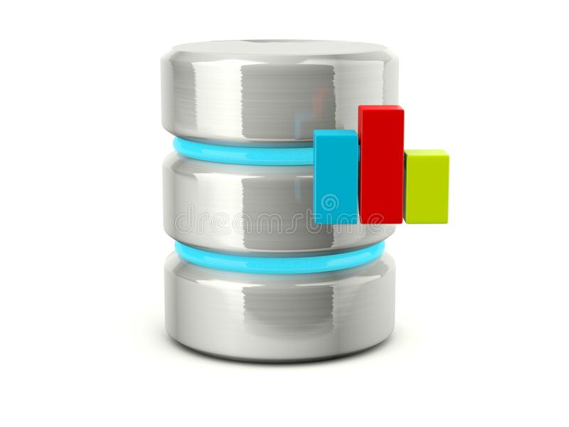 Download Statistic Data Base Icon Stock Images - Image: 23253764