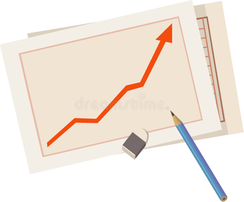 Download Statistic graphic stock vector. Illustration of chart - 4073493