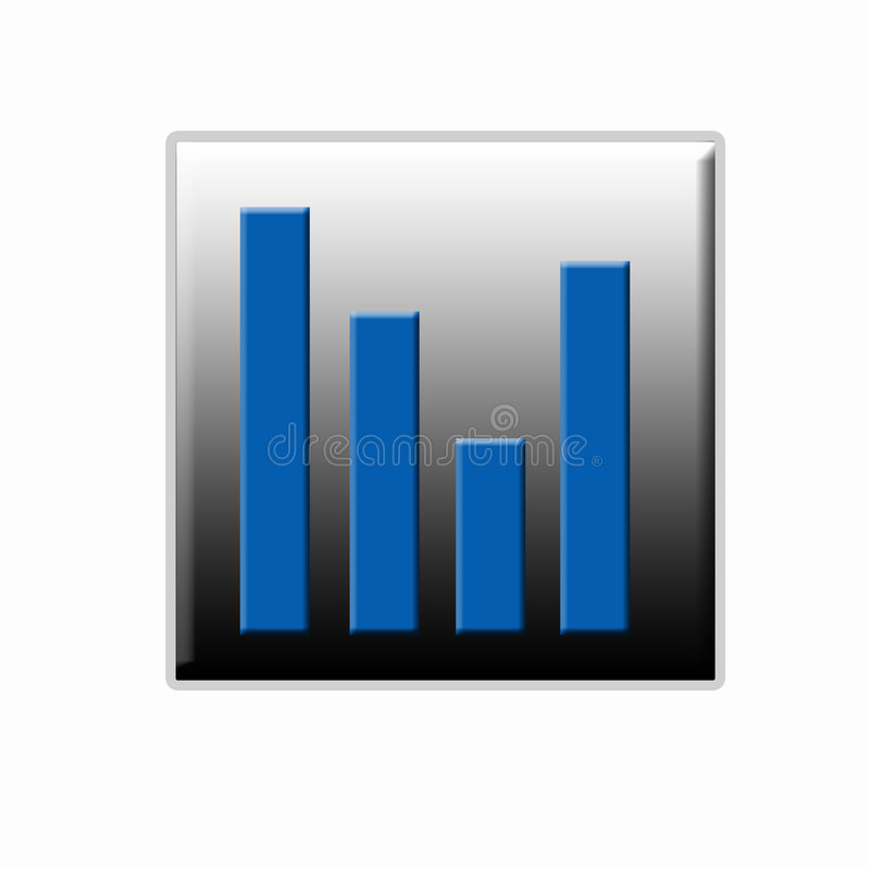 Download Statistic Web Button stock illustration. Illustration of arrow - 3281146