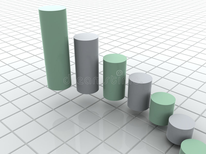 Statistiche d'impresa royalty illustrazione gratis