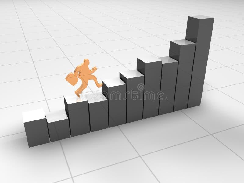 Statistiche d'impresa illustrazione vettoriale