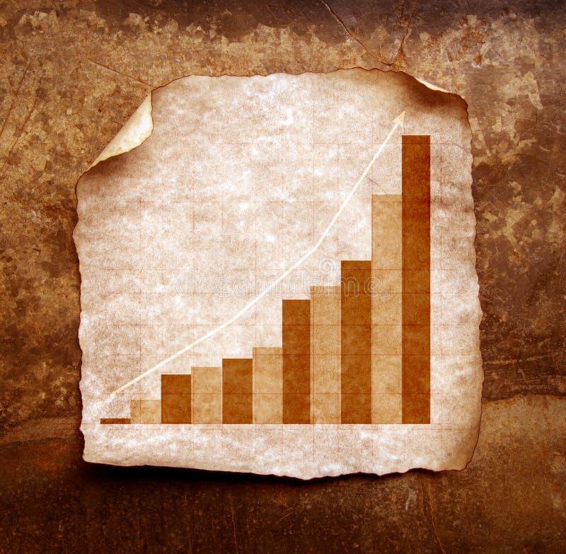 Statistiche d'impresa illustrazione di stock