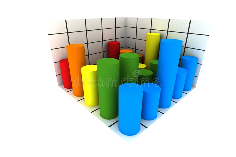 Statistics stock illustration