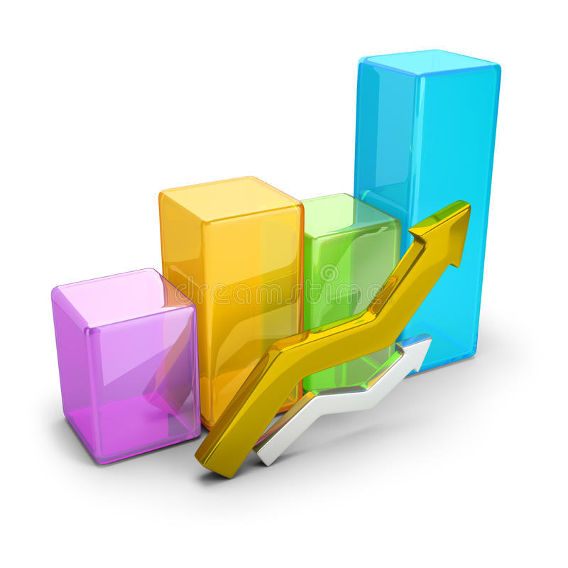 Download Statistics stock illustration. Illustration of growth - 74722269