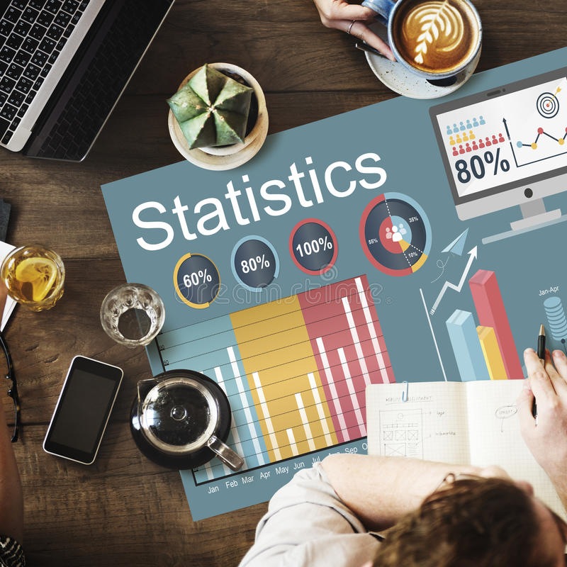 Statistics Marketing Planning Report Strategy Concept royalty free stock photos