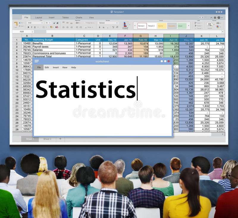 Free Statistics Stats Analysis Research Economic Financial Concept Royalty Free Stock Images - 67244179