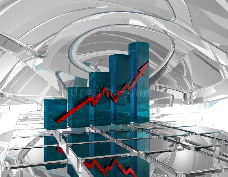 Statistieken stock illustratie