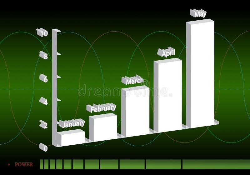 Statistieken 32 stock illustratie