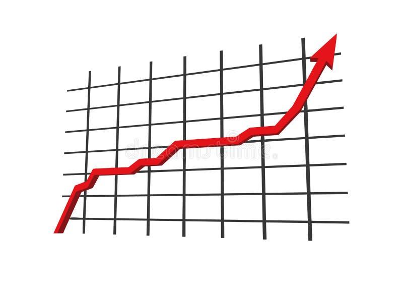Statistieken royalty-vrije illustratie