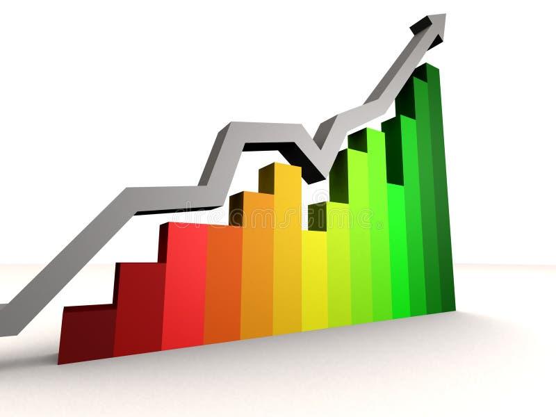 statistik stock illustrationer