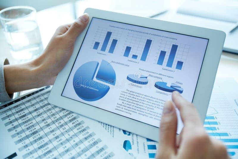 Statistiken stockfotografie