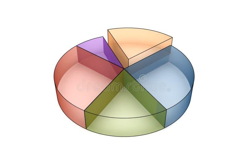 Statistiken 3d vektor abbildung