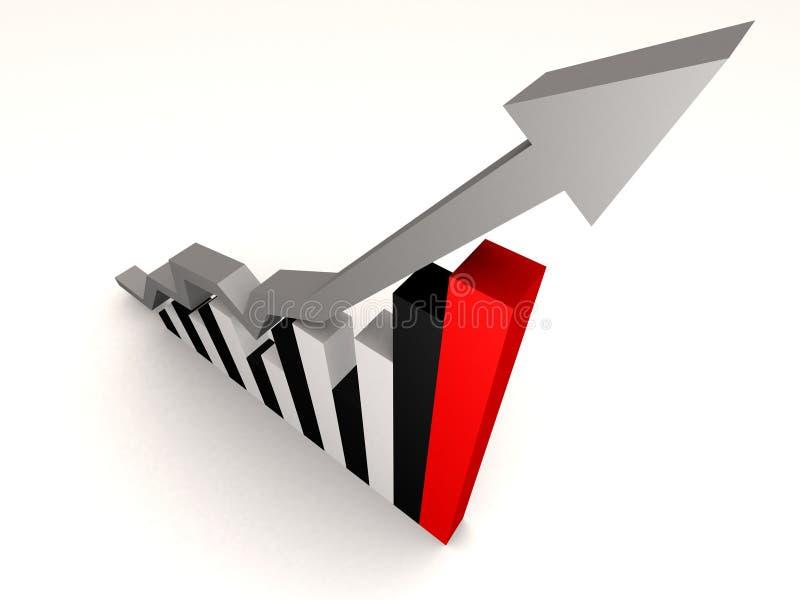 Statistique illustration stock