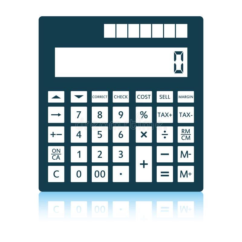 Statistisch calculatorpictogram vector illustratie