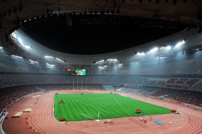 statium Олимпиад Пекин стоковая фотография