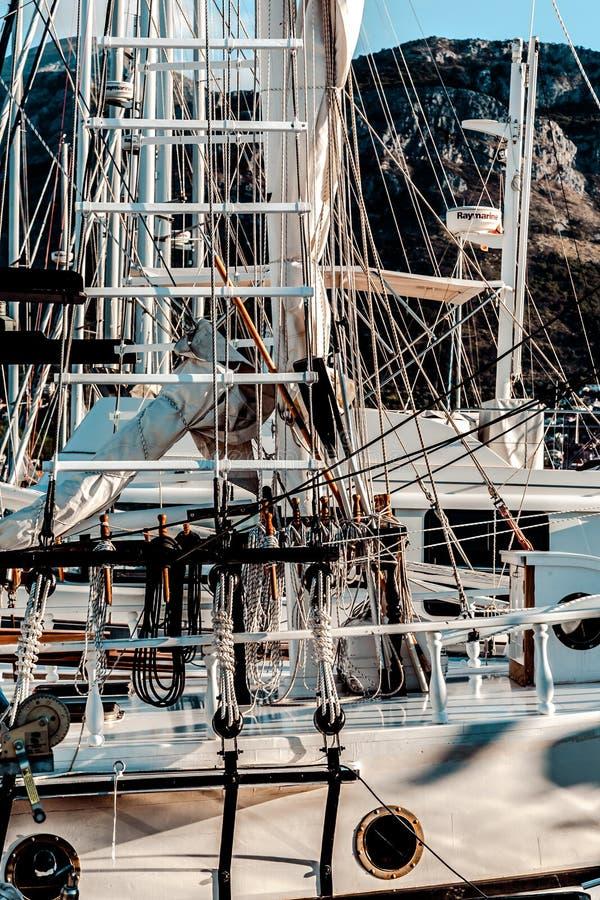 Statków szczegóły obraz royalty free