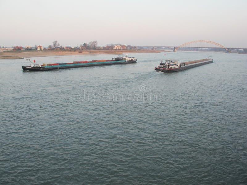 Statki spotyka w górę punktu zdjęcie stock