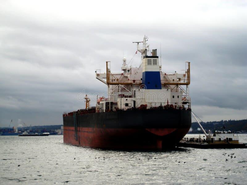 statki towarowe tankowiec v 1 fotografia stock
