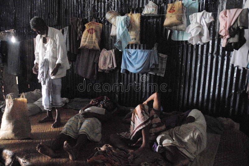 Statku łamanie w Bangladesz zdjęcia stock