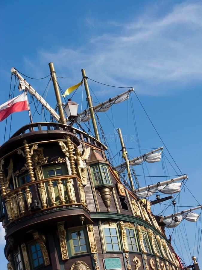 statku rocznik zdjęcie royalty free