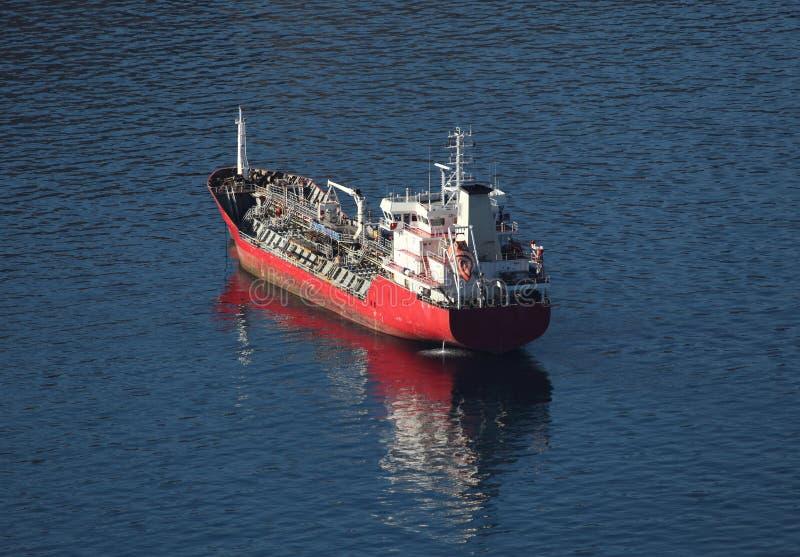 statku tankowiec obraz royalty free