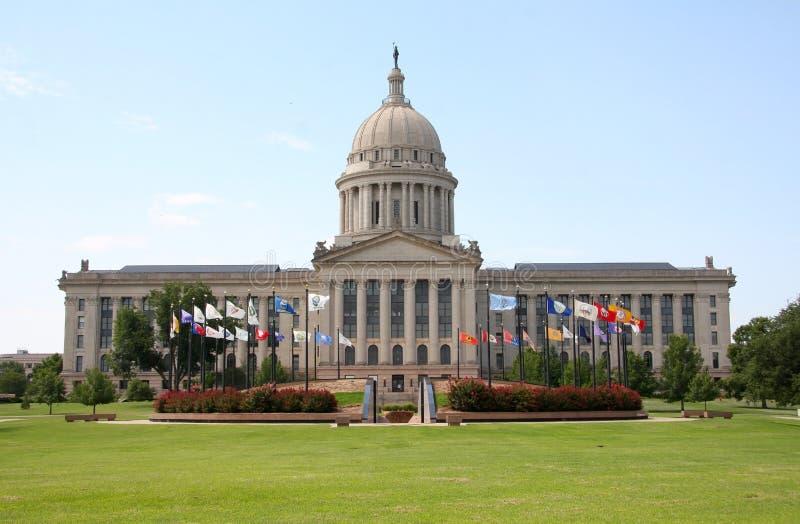 Statlig capitol för oklahoma city royaltyfri foto