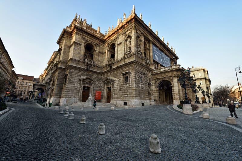 Statlig operahus för ungrare royaltyfri foto