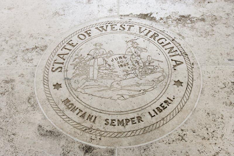 Statlig skyddsremsa av West Virginia i Fort Bonifacio, Manila, Filippinerna arkivbilder