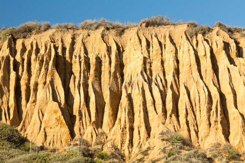 Statlig strand Kalifornien för El Matador arkivbild